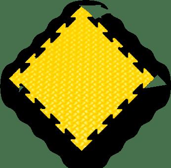 yellow MMA mats