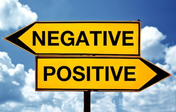 Positivity-sign posts