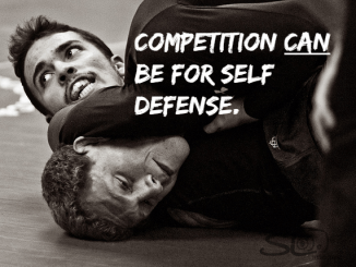 Competition-Self defense