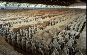 L'esercito di terracotta nel mausoleo di Ch'in Shih-huang