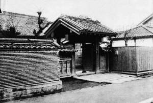 L'ingresso del tempio di Eisho (biografia Jigoro Kano)