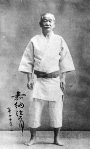Jigoro Kano in judogi