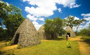 Serra da Barriga, in União dos Palmares, Alagoas, è il Memorial Park Palmares. Le case del più grande quilombo brasiliano sono state ricostruite basandosi su documenti storici.
