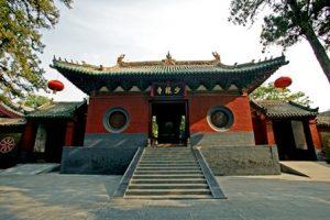 Il tempio di Shaolin fondato nel 495 d.C.