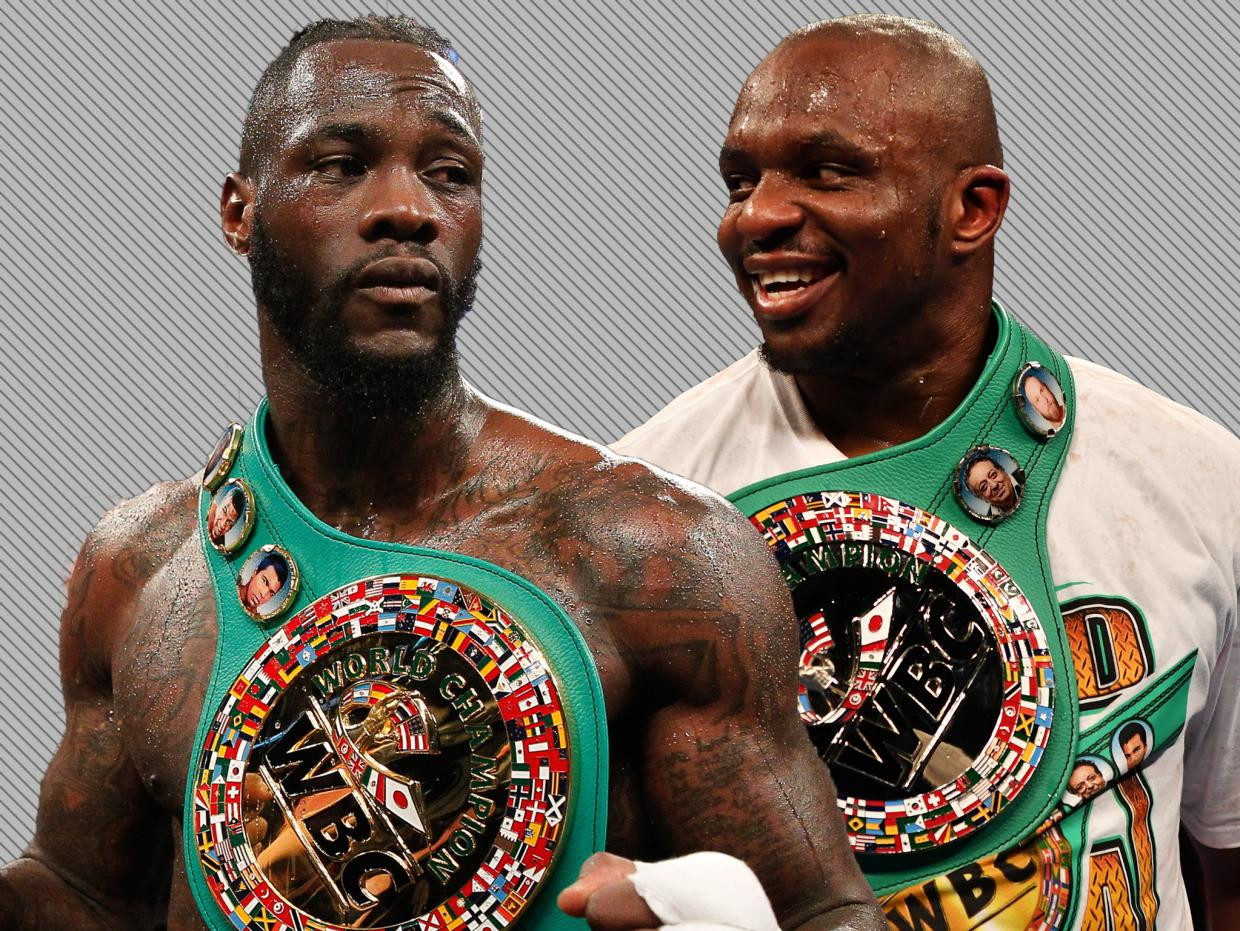 Dillian Whyte vs Deontay Wilder is the perfect fight for the heavyweight division