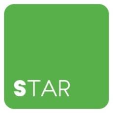 logo star colore verde