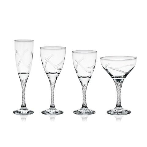 Servizio di Bicchieri dal Design Moderno con Incisione realizzata a mano Mambo