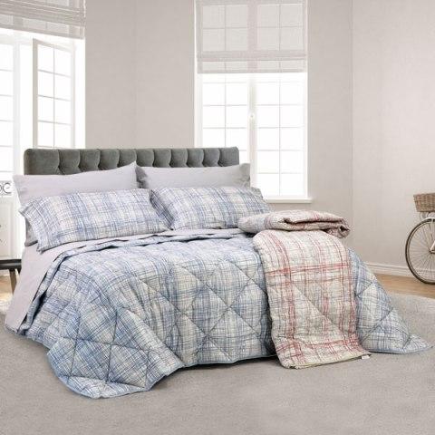 Coordinato letto con disegno moderno in puro cotone - Siviglia