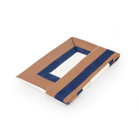 Coppia lenzuola compose cashmere blu