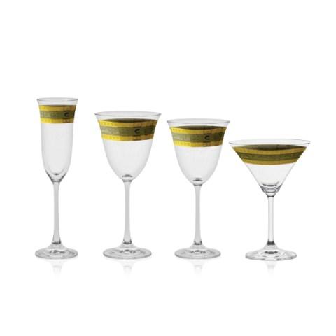 Servizio di Bicchieri in Oro e Platino - Riad