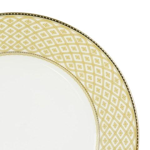 Servizio piatti decoro filo oro - Carisma