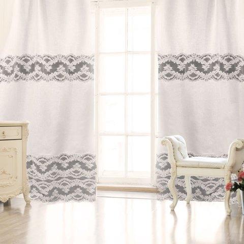 Pannello tenda primo letto puro lino beige - Giulia