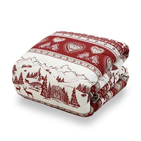 piumone-invernale-natalizio-rosso