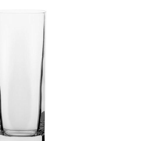 Servizio bicchieri basso 38 pezzi quadrato - Cosmo
