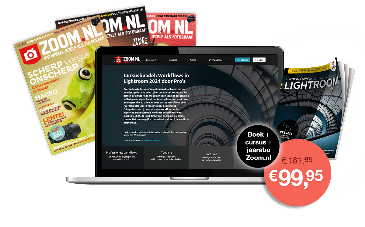 Cursus Workflows in Lightroom door Pro's