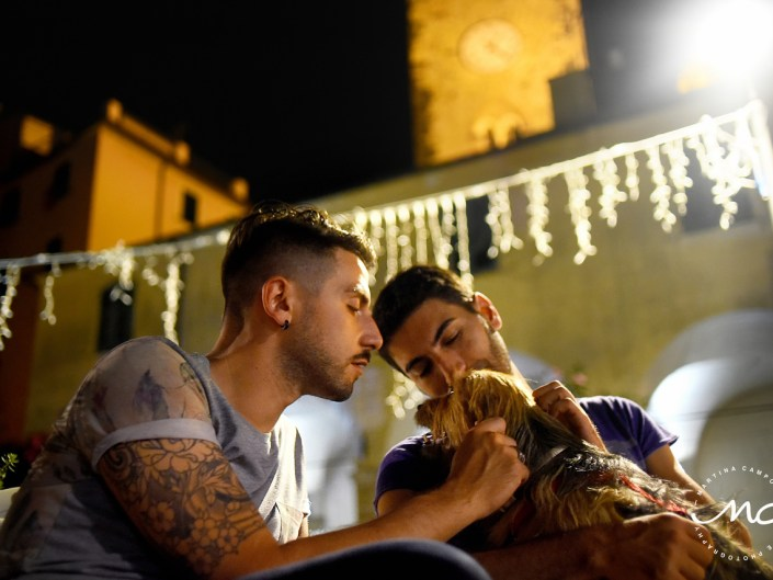 Gay Couple portraits at Cinque Terre, Italy. Martina Campolo Engagement Photography