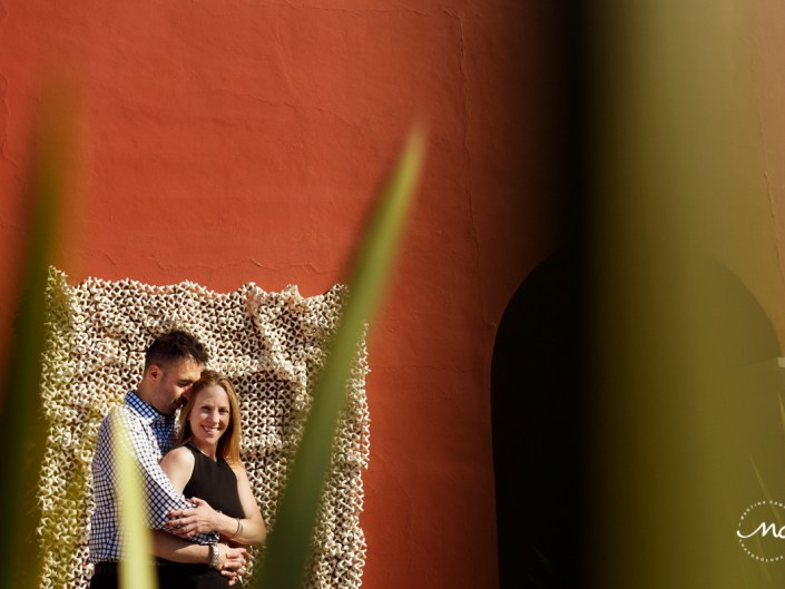 Couples portraits at Rosewood San Miguel de Allende Rooftop. Martina Campolo Photography