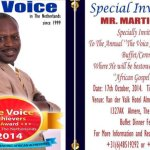 The Annual Voice Achievers Awards Night