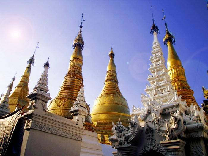 Shwedagon is almost like city of skyscraping stupas...