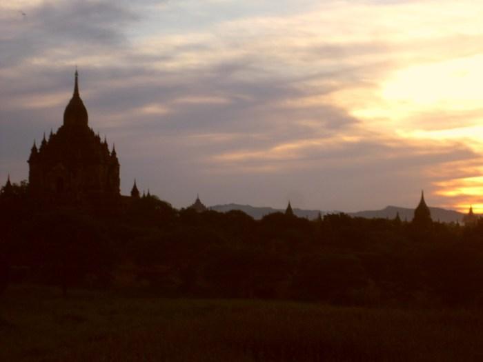 Bagan. It's beautiful.
