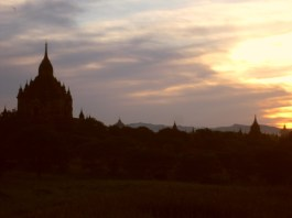 Bagan. It's beautiful.