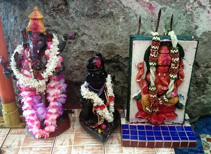 Hindu idols at Nagg Mandir Temple, Fiji.