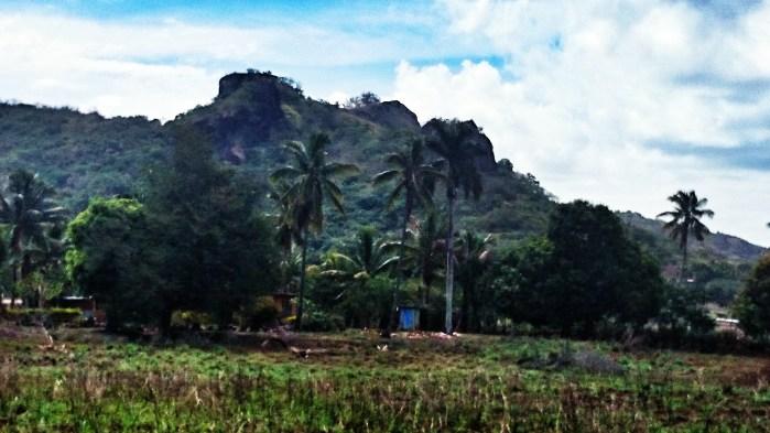 Pretty rugged mountains near Labasa, Fiji