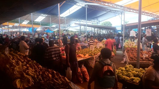 Fruit and veg at the Suva Market