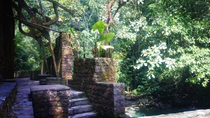 Sculpture at Las Pozas