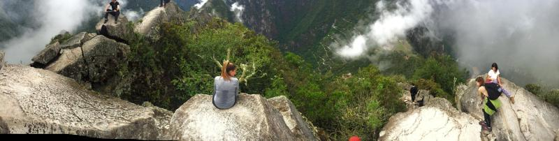 The top of Wayna Picchu is ethereal