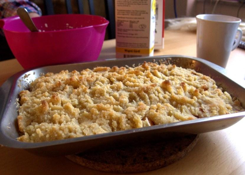 low carb apple pie recipe recept LCHF lavkarbo