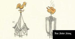 Zeichnung: Peter Gut, NZZ