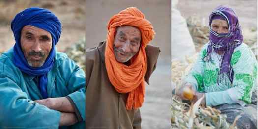 Three Workers at Kasbah