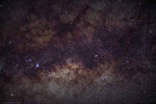 Milky Way Galactic Core