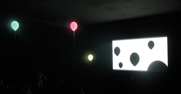 Don't Look Now - Expanded Cinema, Instalation, Vienna, 2009