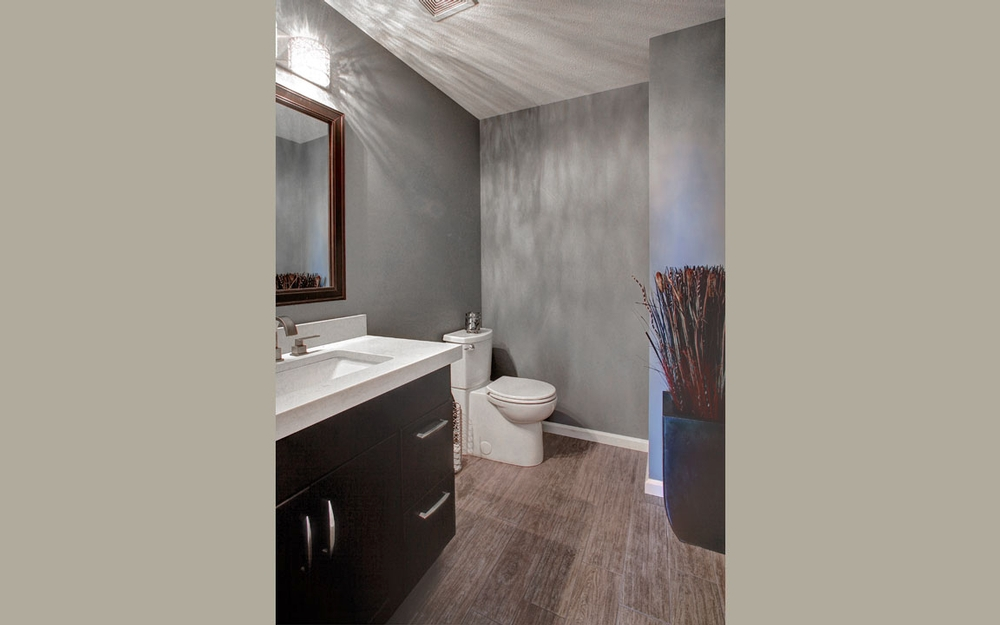 Kitchen  Powder Room Remodel  Martin Brothers Contracting