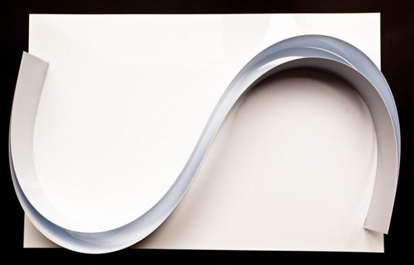 Chocolate Form Sheets 600 x 400 x 0.42mm cut sheets white gloss upvc (UPVC60x40)