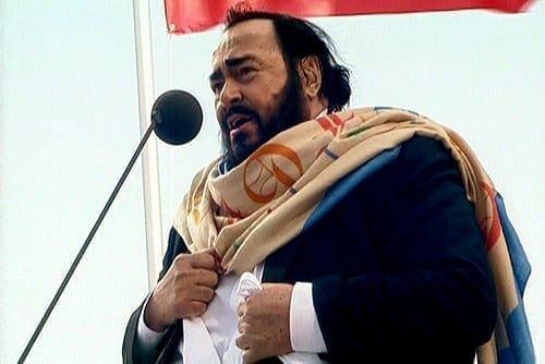 Luciano Pavarotti. Fuente: Wikipedia. Autor: Kremlin.ru