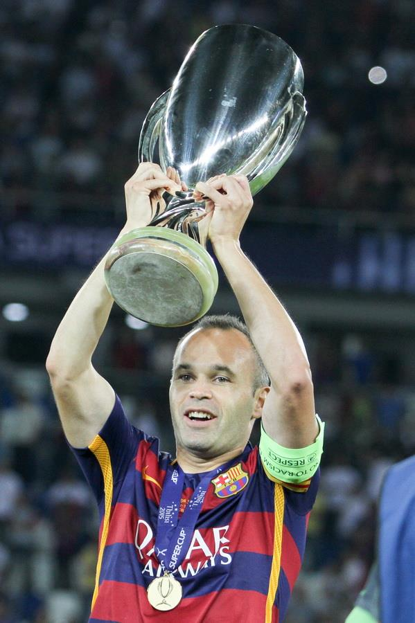 Andress Iniesta. Fuente: Football.ua