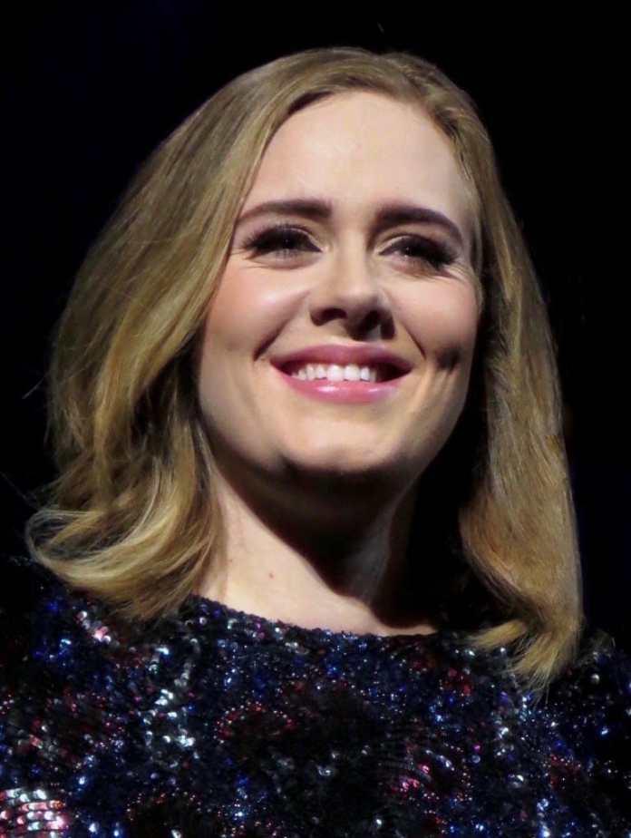 Adele en el 2016. Fuente: Wikipedia. Autor: Marc E.