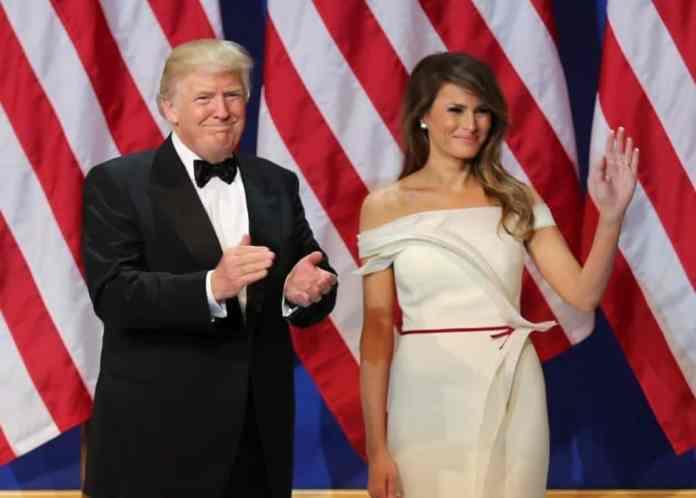 Donald Trump y Melania en 2017. Fuente: Wikipedia. Autor: U.S. Army Sgt. Kalie Jones
