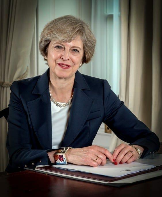 Theresa May. Fuente: gobierno británico