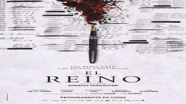 """Image from the movie """"El reino"""""""
