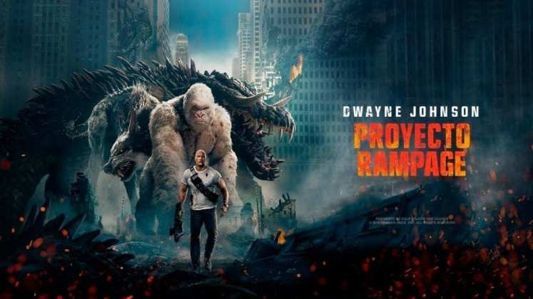 """Image from the movie """"Proyecto Rampage"""""""