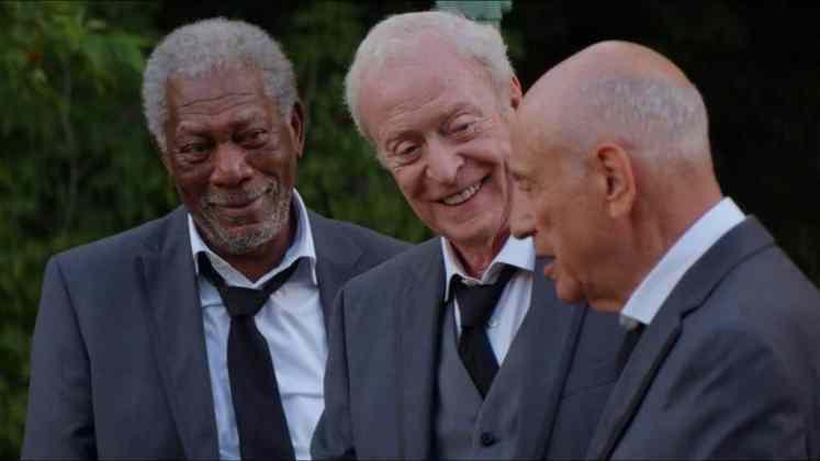 "Image from the movie ""Un golpe con estilo"""
