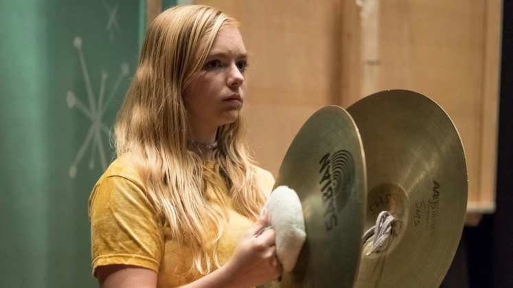 """Image from the movie """"Eighth Grade"""""""
