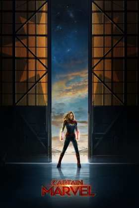 "Poster for the movie ""Capitana Marvel"""