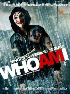 "Poster for the movie ""Who Am I: Ningún sistema es seguro"""