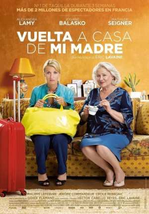 "Poster for the movie ""Vuelta a casa de mi madre"""