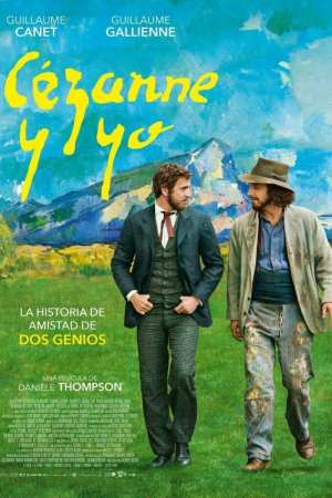 """Poster for the movie """"Cézanne y yo"""""""